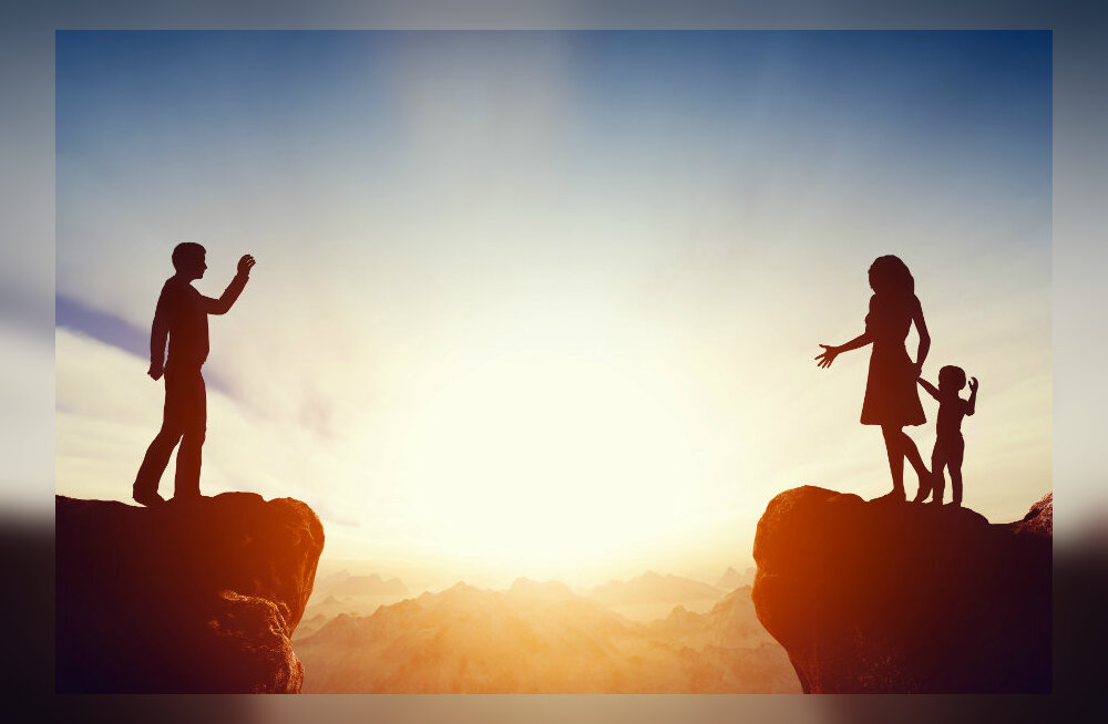 Eluterve kärgpere: soovitused ekspartnerile, kes elab üksi ja kelle laps on sattunud kärgperre