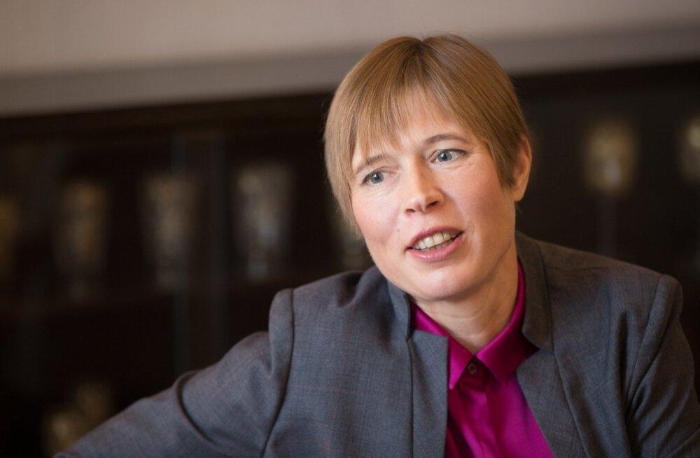 President Kaljulaid Soome väljaandele: enese kaitsmisel valimiste mõjutamise vastu võtke eeskuju Prantsusmaast