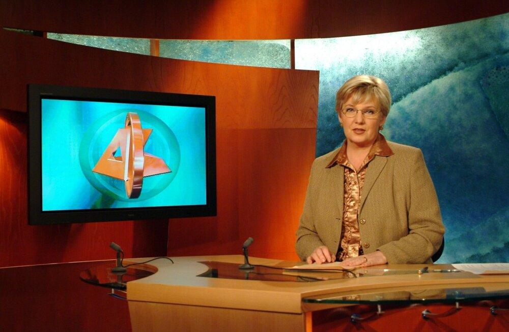Marite Kallasmaa uudisteankruna aastal 2003.