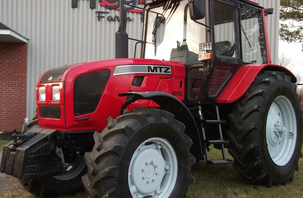 Belarusi traktor uueneb.
