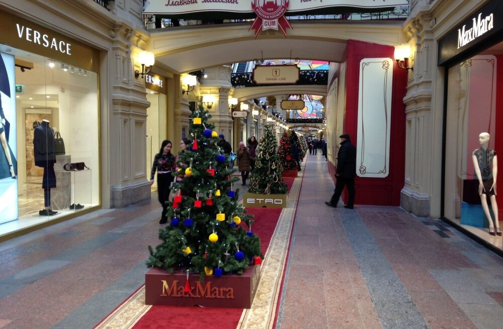 ФОТО читателя Delfi: Благотворительный аукцион рождественских красавиц