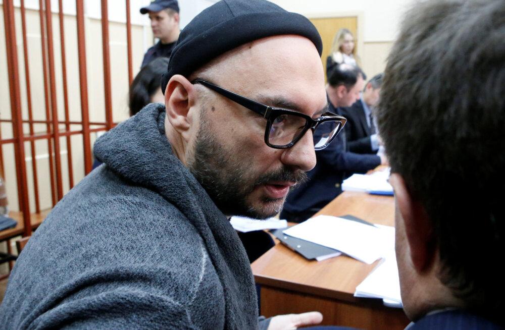 Kafkalik protsess jätkub: Moskva kohus pikendas tuntud lavastaja Kirill Serebrennikovi koduaresti