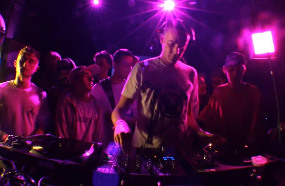 Elektroonilisele <em>dubstep</em>i muusikastiilile alusepanija DJ Pinch UK-st astub üles Tallinnas Sveta baaris