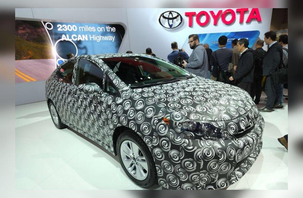 Toyota alustab vesinikuautode seeriatootmist