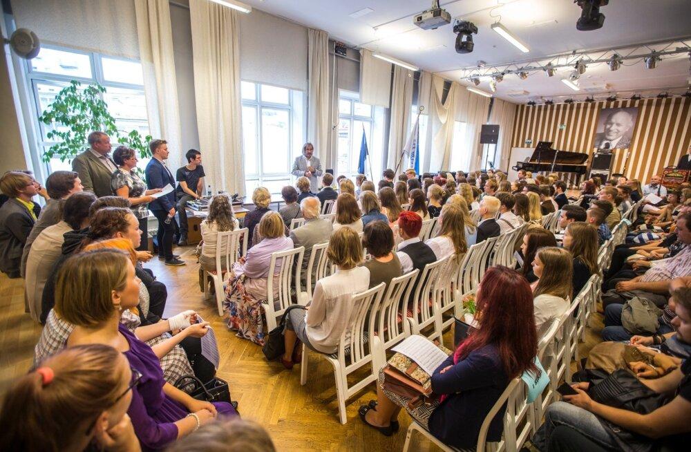 Georg Otsa nimelise muusikakooli aktus