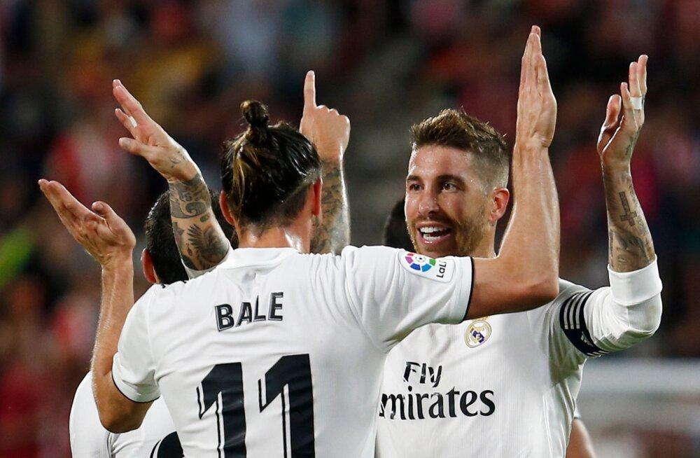 Gareth Bale ja Sergio Ramos