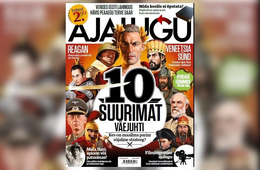 Ajakiri Ajalugu: Kes oli suurim väejuht? Napoleon või Caesar, Aleksander või Scipio Africanus