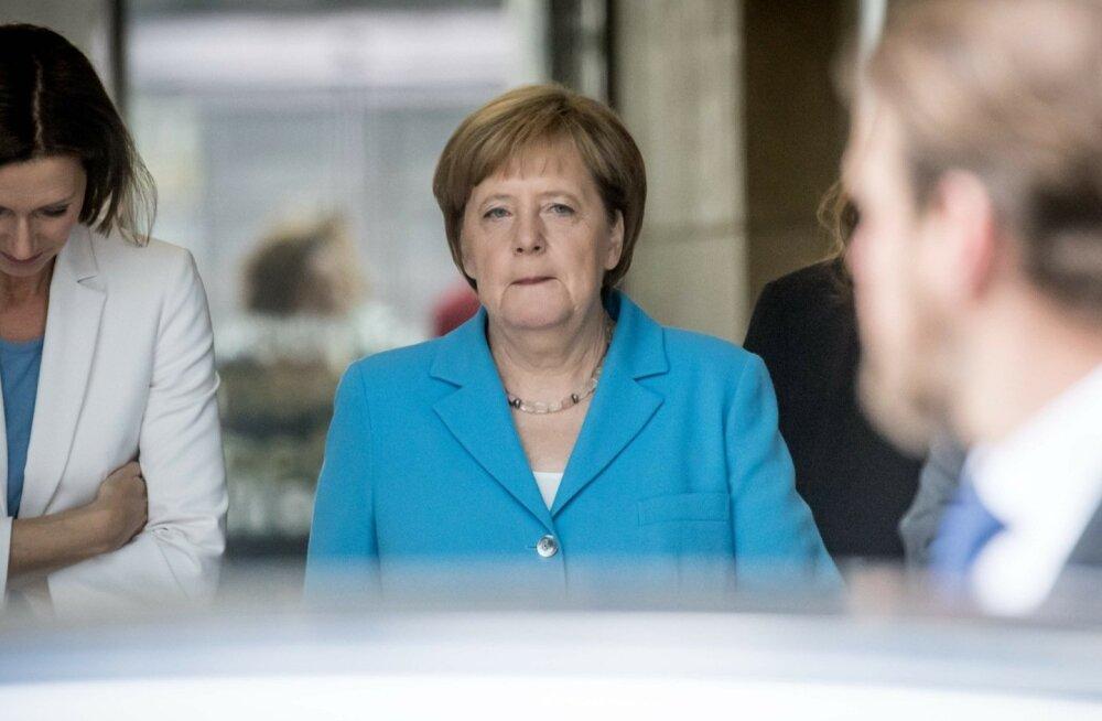 Saksamaa liidukantsler Angela Merkel käis eile telekanali ZDF stuudios arusaamatust selgitamas.