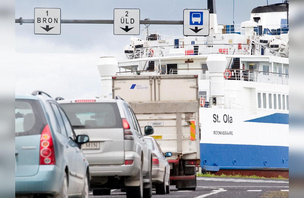 Väga madal veetase häirib tõsiselt laevaliiklust Hiiumaaga