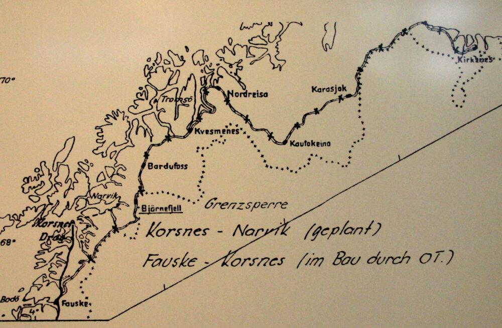 Pooleli jäänud Saksa rongiliin, mis pidi viima kaugele põhja (aga Norrale käib siiani üle jõu)
