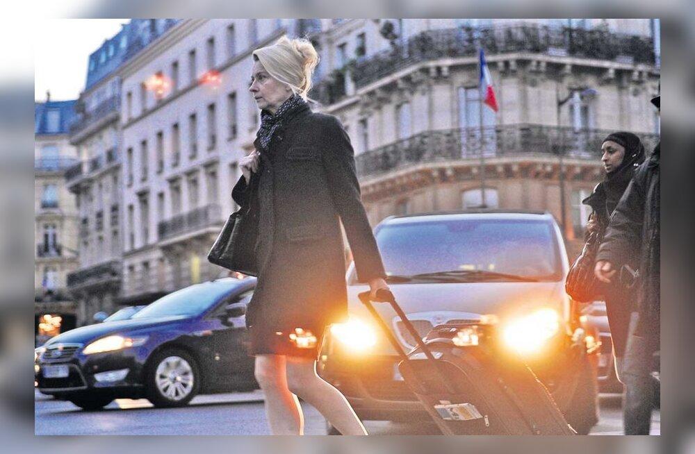 Eesti naine on leidnud endale Pariisis rolli