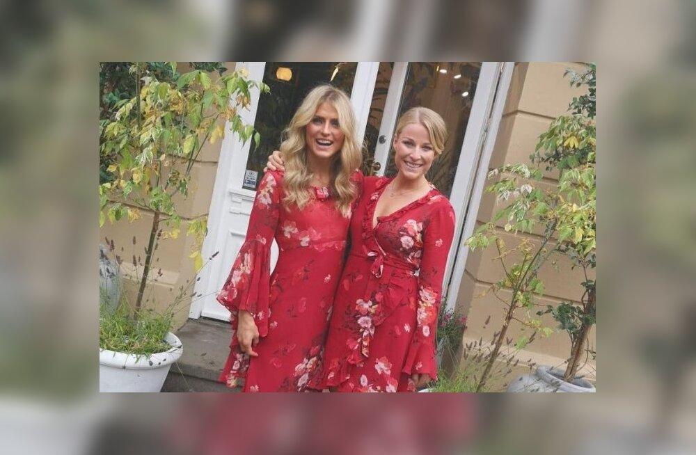 Therese Johaug ja Ida Eide suvel koos sünnipäeva tähistamas.