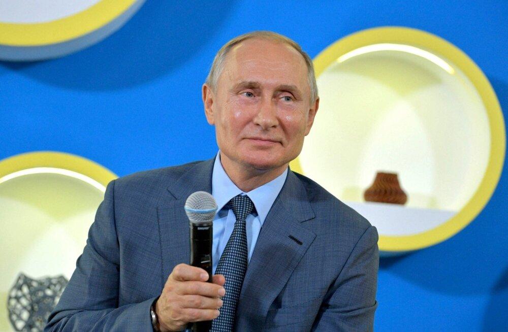 Vene televisioonis alustas iganädalane Putini kiidusaade: ei armasta mitte ainult lapsi, vaid kõiki inimesi