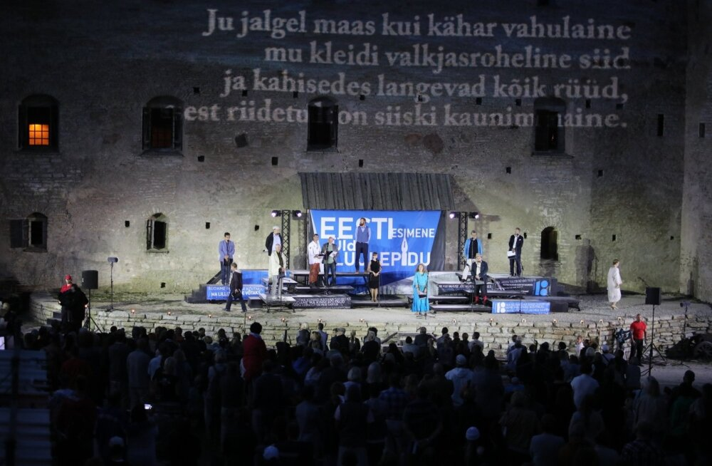 Rakveres toimus Eesti esimene üldluulepidu
