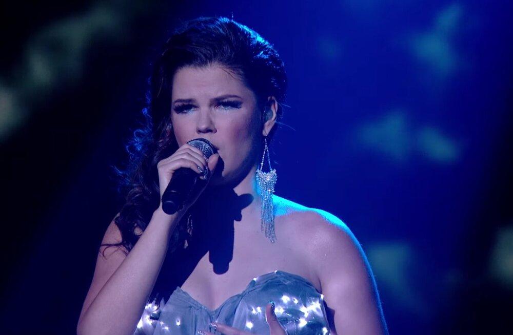 """KUULA: Briti X-Factori finalist Saara Aalto laulab eesti keeles Ott Leplandi lugu """"Kuula"""""""