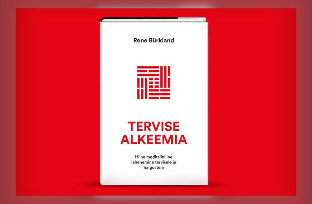 """Ilmus hiina meditsiini arsti Rene Bürklandi raamat """"Tervise alkeemia"""""""