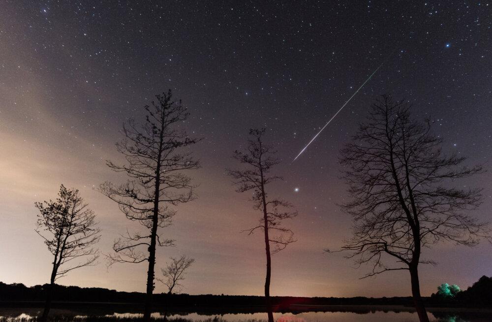 Sel nädalavahetusel võib näha leoniidide meteoorisadu