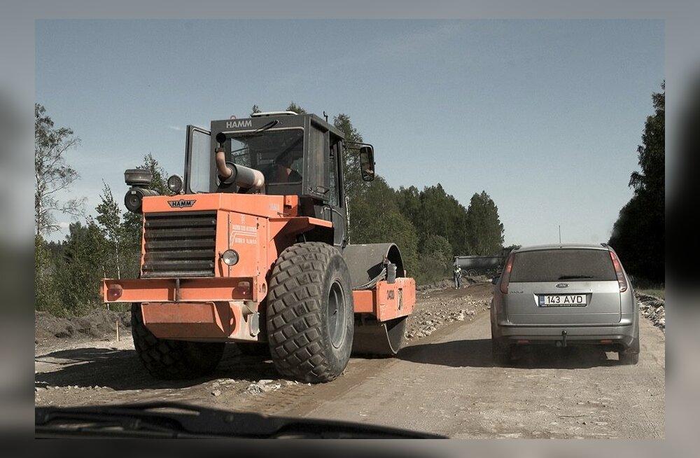 Täna on Eestis liikluspiiranguid seitsmes paigas
