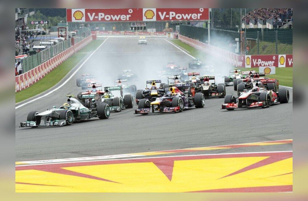 Vormel-1 Belgia GP
