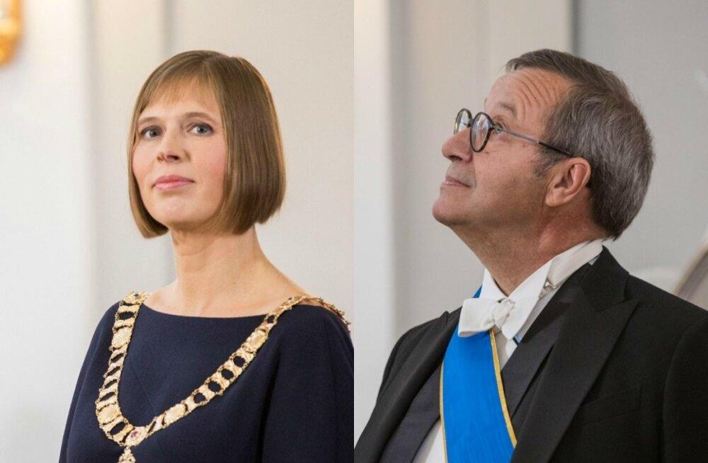 Kersti Kaljulaid, Toomas Hendrik Ilves