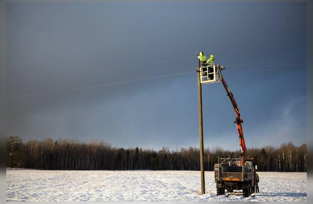Elektrilevi taastas saartel ja Pärnumaal elektriühenduse 3500 kliendile