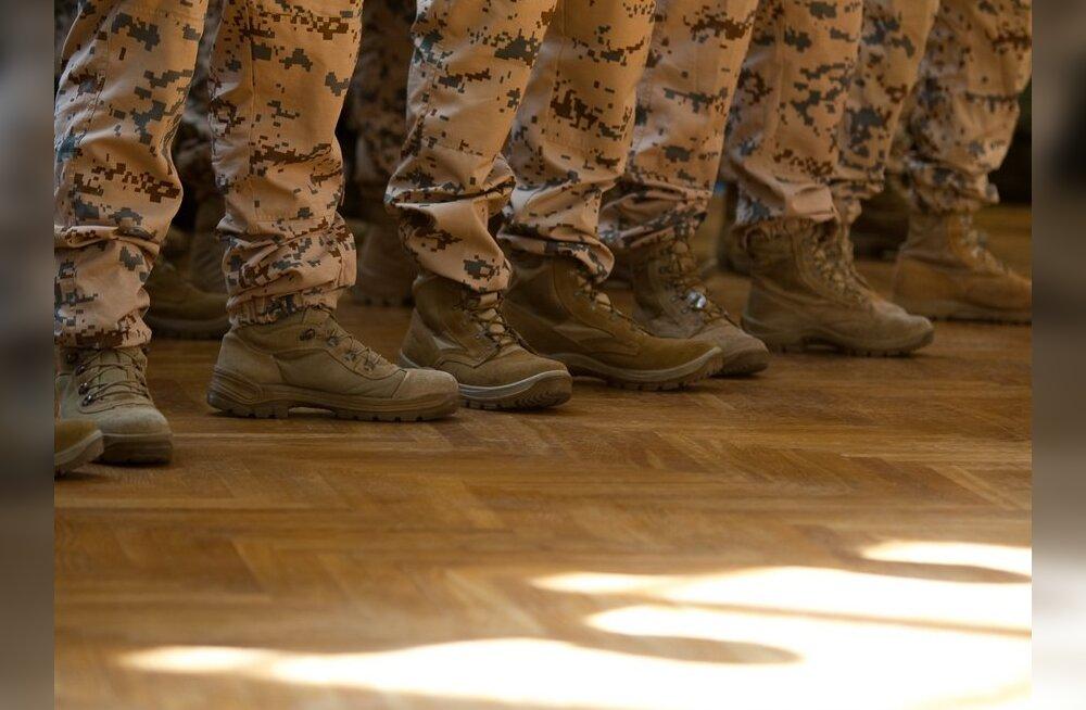 Afganistanis teeninud Eesti kontingent jõudis koju