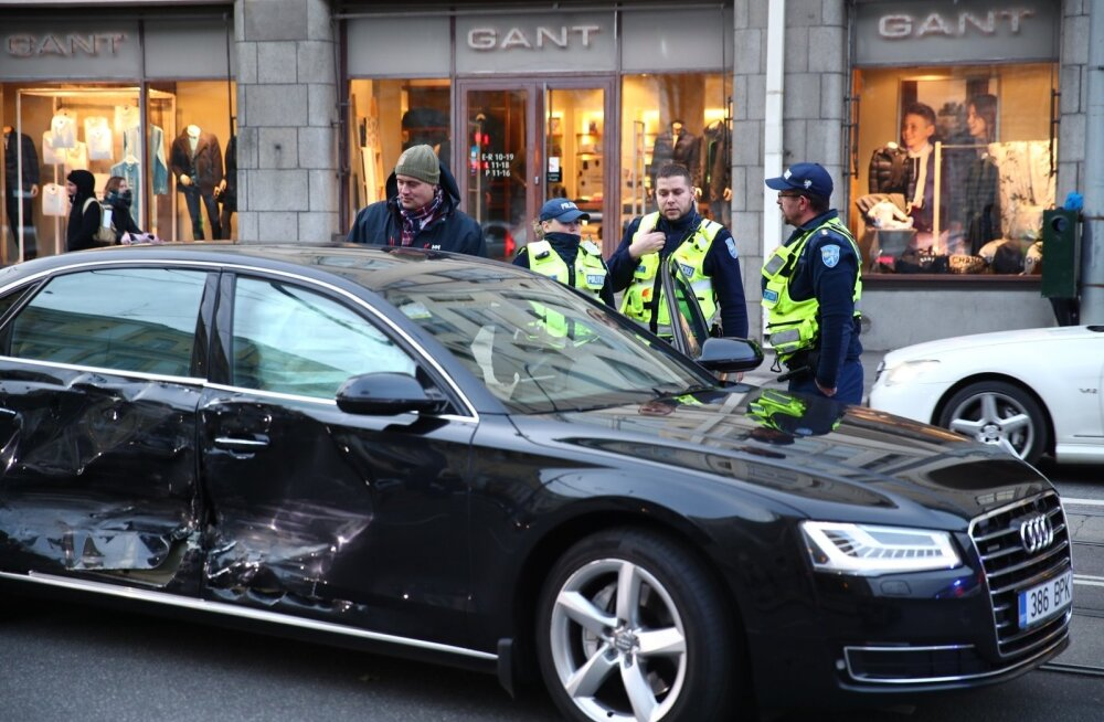 Peaminister Jüri Ratase auto sattus liiklusõnnetusse