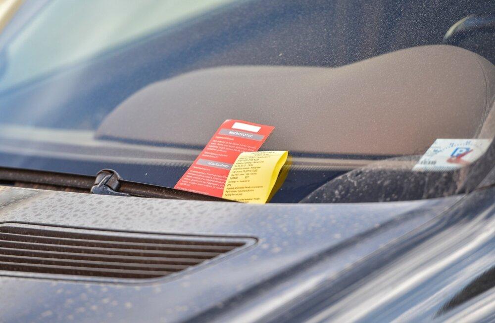 Parkimisettevõte saab inkassofirma abiga trahvitava inimese isikule jälile