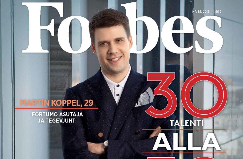 Forbes Eesti tutvustab noori ja tegusaid: e-residentsusest Keskerakonnani