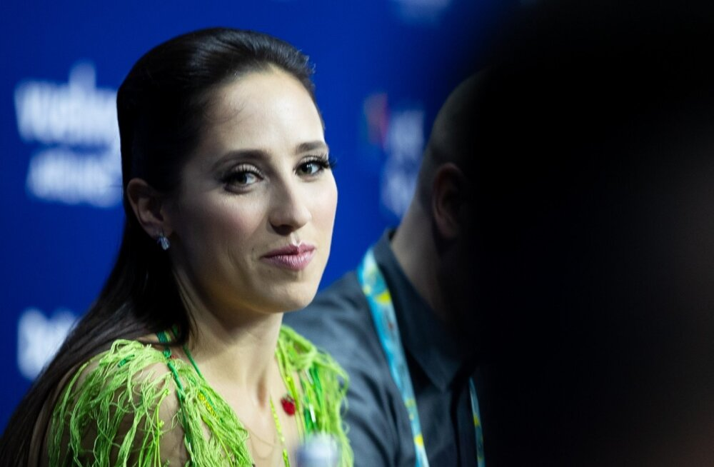 Elina Nechayeva pressikonverentsil