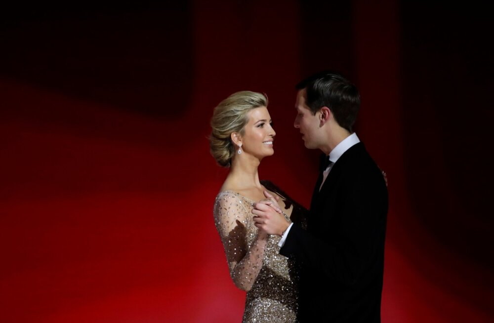 Donald Trumpi tagatoa väidetavad tõelised niiditõmbajad: tütar Ivanka Trump ja väimees Jared Kushner