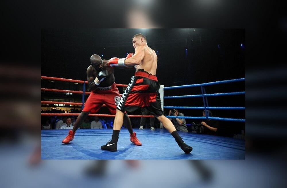 ФОТО и ВИДЕО: В Риге прошло эффектное боксерское шоу