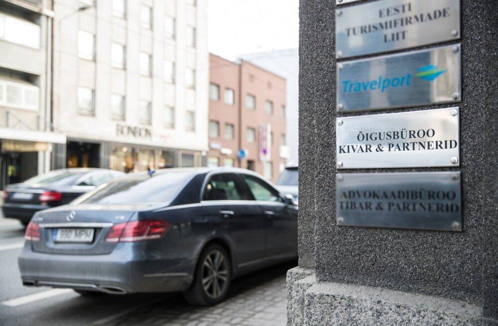 """Konkursi võitnud õigusbüroo """"Kivar & Partnerid"""" kontori leidmine ei olnud kerge töö."""