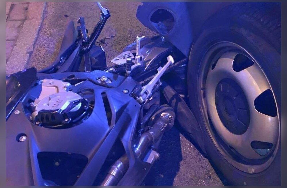 Американские номера на мотоцикле убегавшего от полиции лихача были незаконны