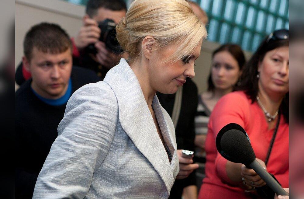 ФОТО: Суд приговорил Анну-Марию Галоян к пяти месяцам реального тюремного заключения