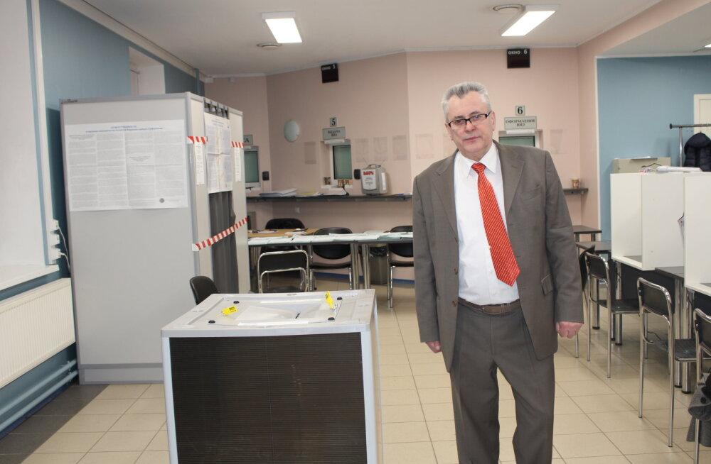 Выборы президента России в Нарве прошли без эксцессов и наблюдателей