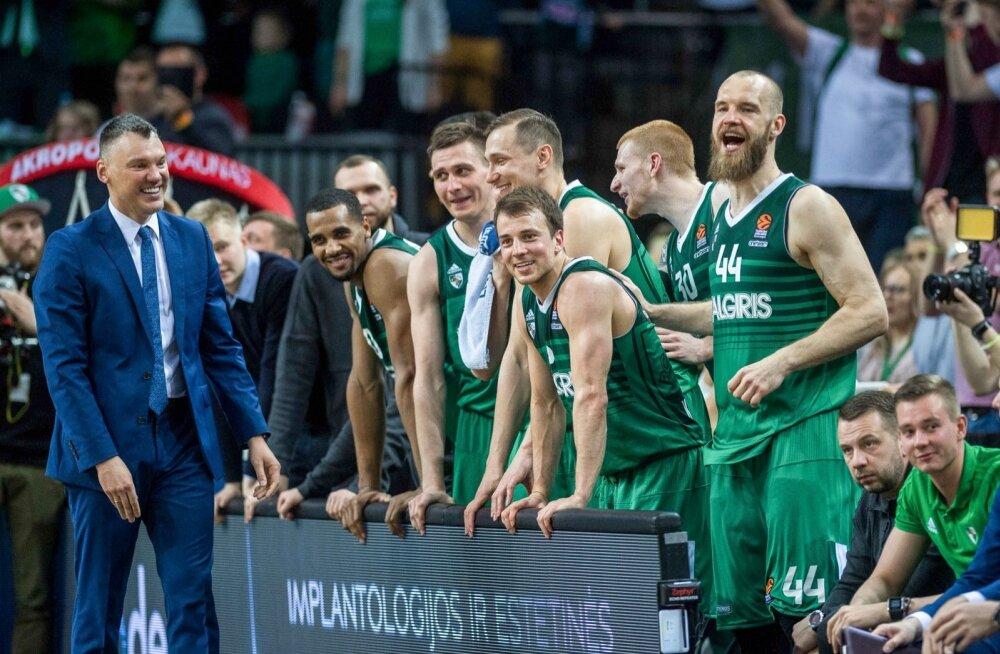 Kaunase Žalgiris mängib Euroliiga finaalturniiril.
