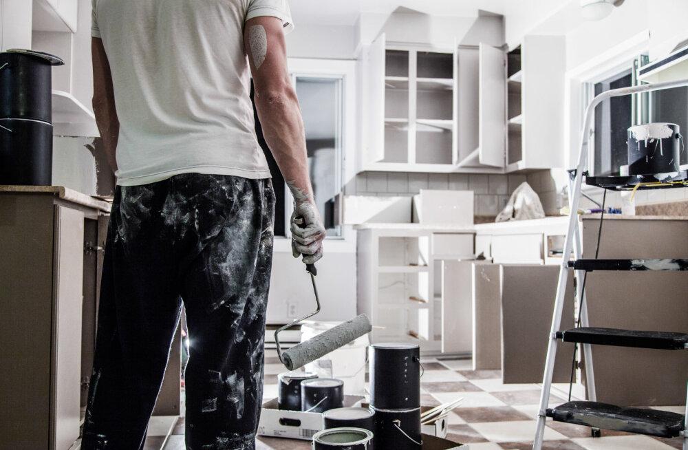 Uuring: Eesti inimesed tunnevad end remonditöödes koduselt