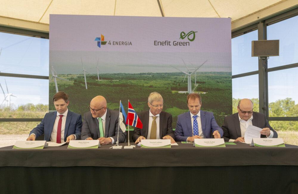Enefit Green получило разрешение на приобретение Nelja Energia