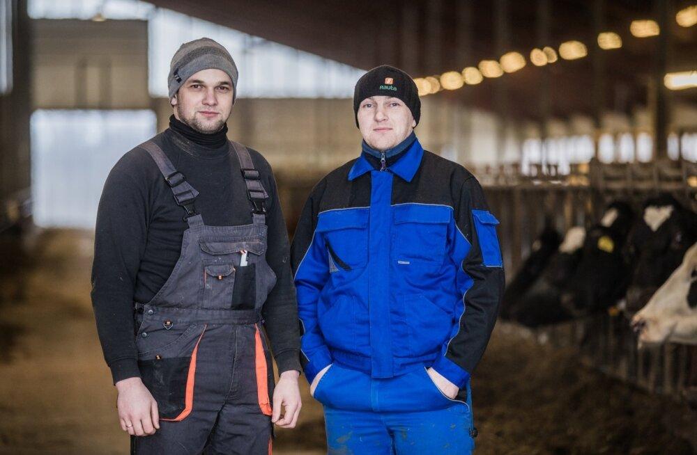 Ukrainlased Kaska-Luiga talus