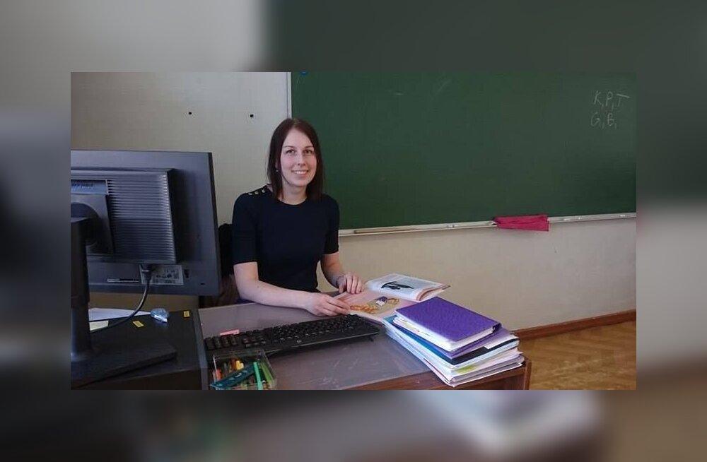 Õpetajana arenen terve elu