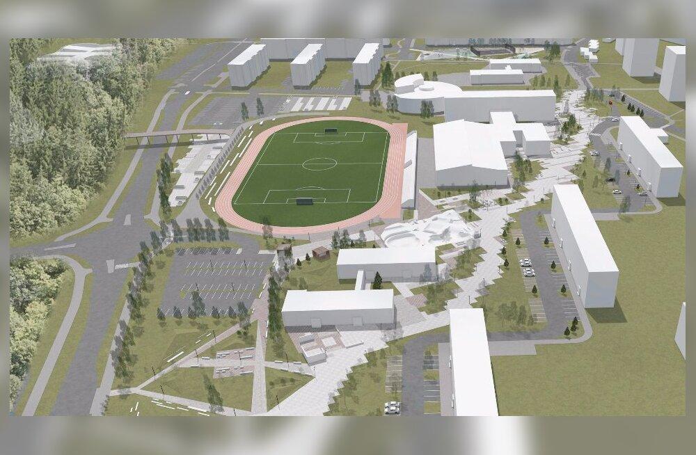 Стал известен новый архитектурный проект учебного и спортивного городка в Йыхви