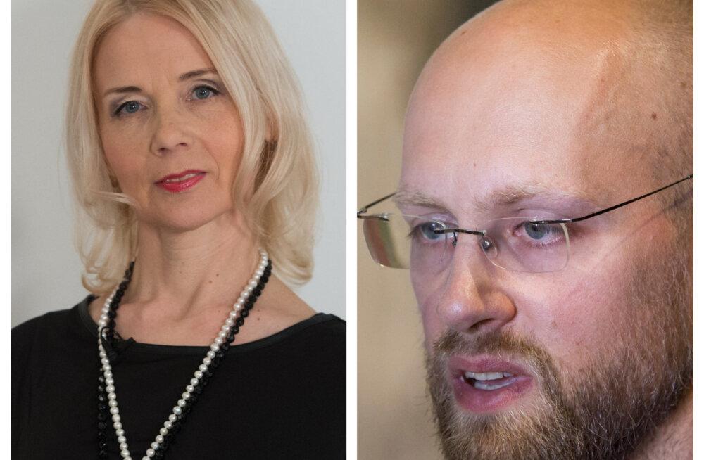 Facebooki-sõda: Monika Helme ja Varro Vooglaid tulises vaidluses