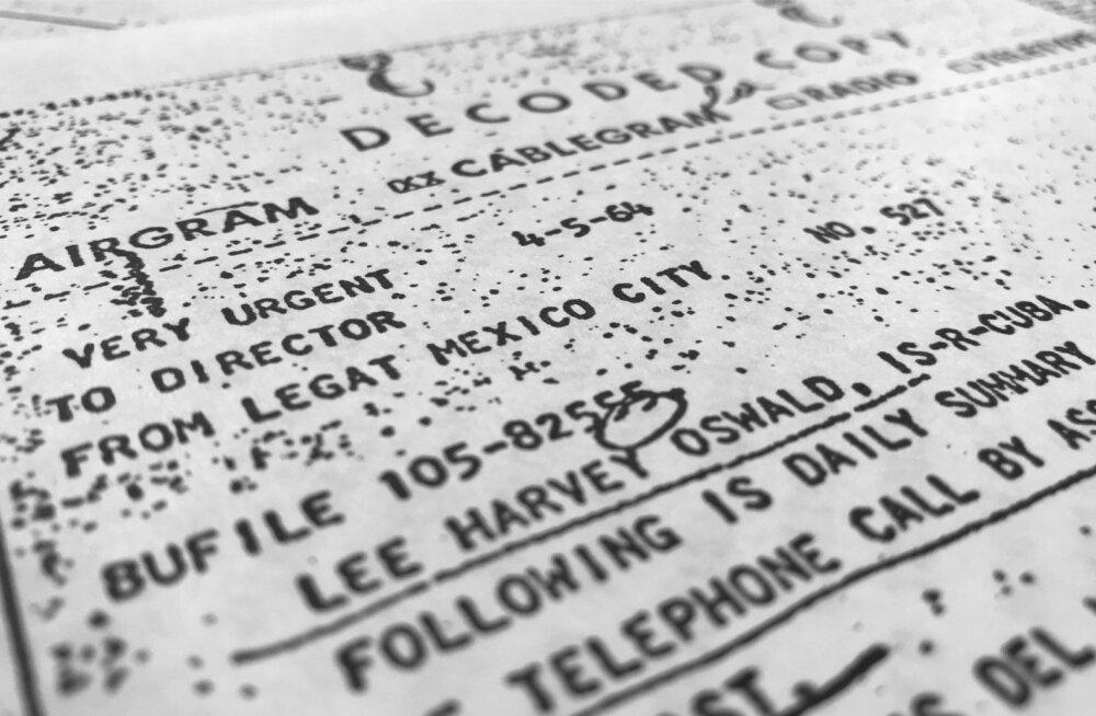 Avaldatud dokumendid: Oswald kohtus enne Kennedy tapmist KGB mõrvaosakonna töötajaga
