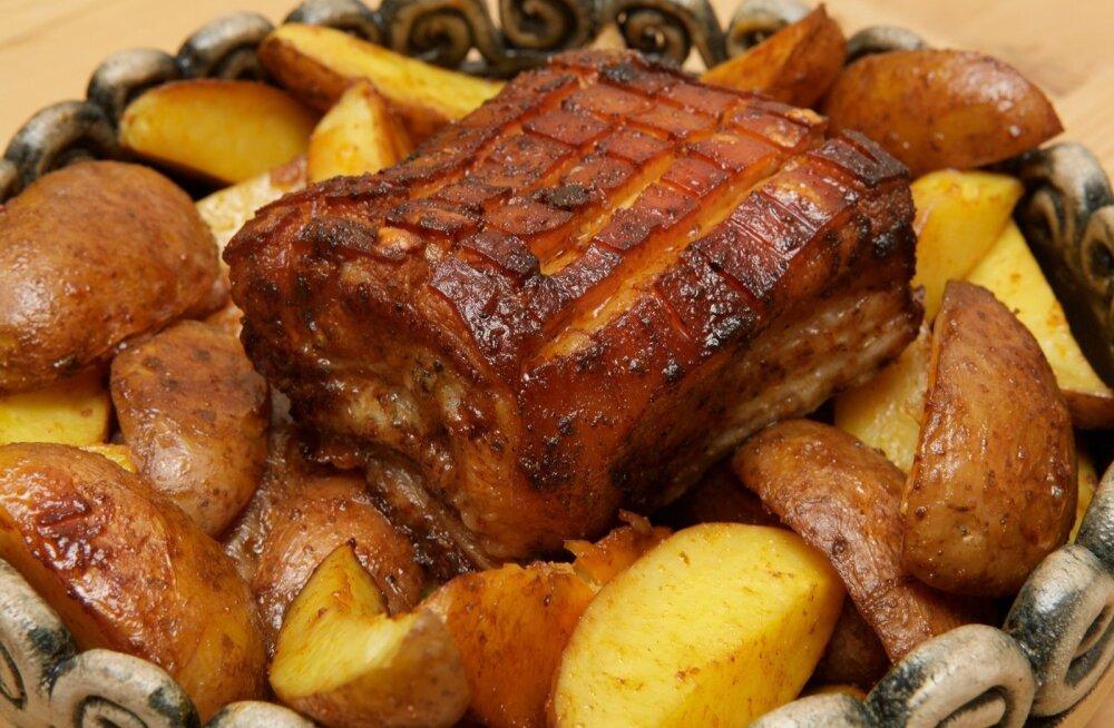 Kodumaise värske jõuluprae liha leiab kõige kergemini pakendil oleva ovaalse märgi järgi, Eestis kasvatatud liha puhul on ovaali sees tähed EE.