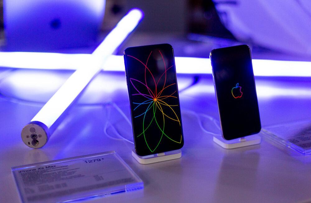 FOTOD | Uued iPhone'id jõudsid Eestis müügile!