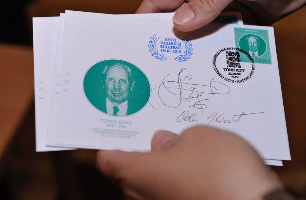 Kunagise põllutööministri Tõnis Kindi 120. sünniaastapäeva puhul anti välja postmark