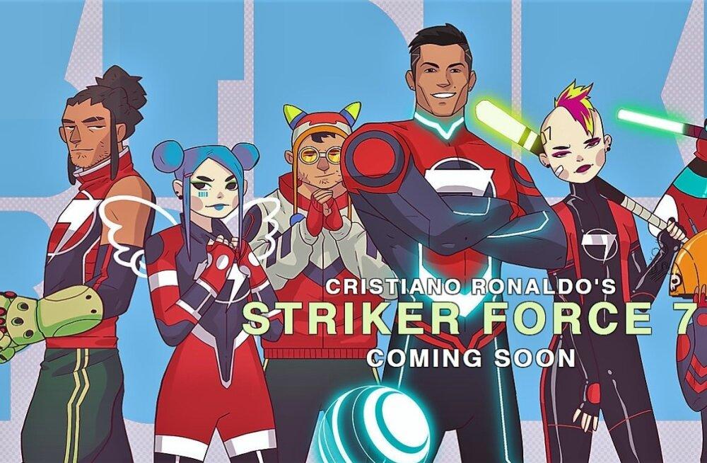 Cristiano Ronaldost vormitakse koomiksite superkangelane