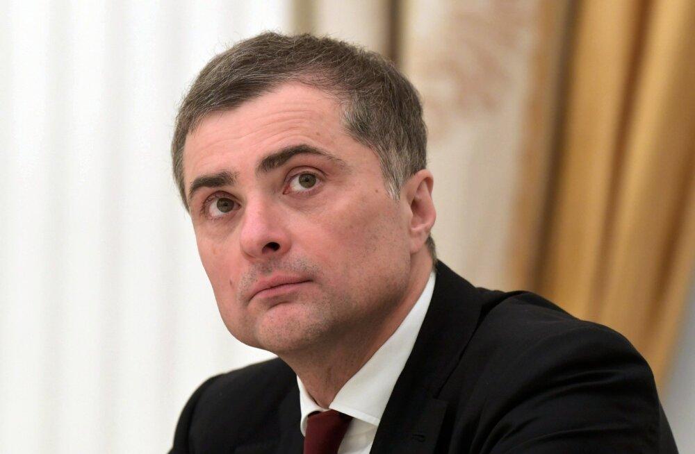 Kremli ideoloog Surkov avaldas artikli uut tüüpi tulevikukorrast putinismist