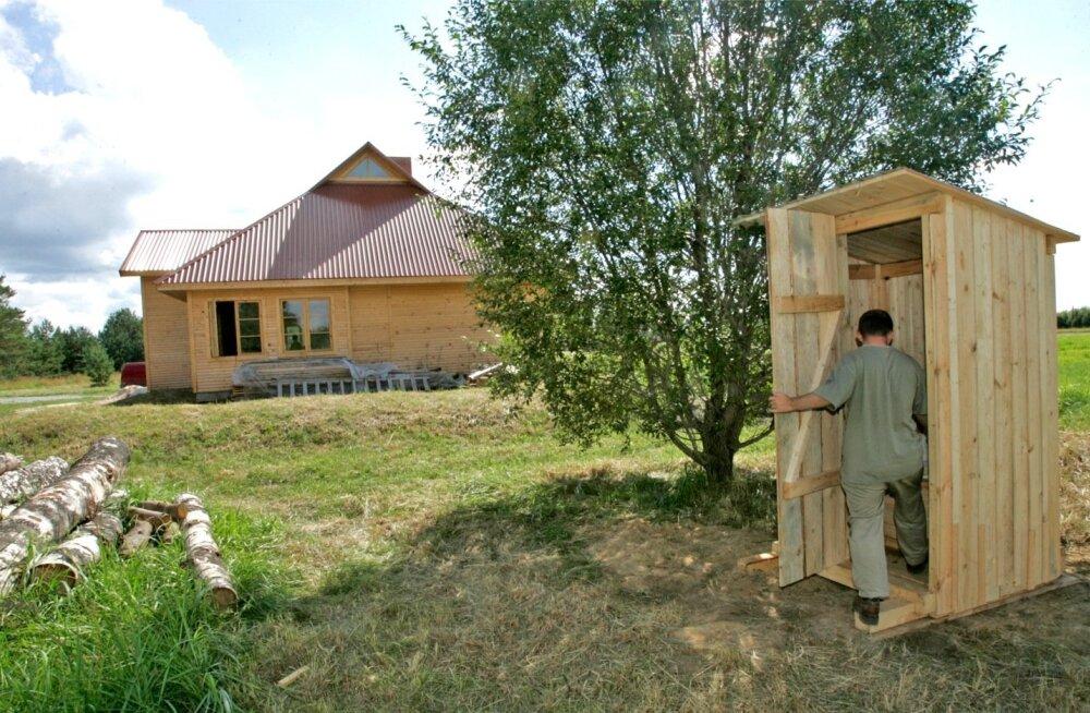 Kümned tuhanded inimesed ajavad Eestis läbi vesikäimla ja vannitoata